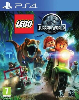 Lego Jurassic World PS4 ITALIANO VIDEOGIOCO PLAYSTATION 4 GIOCO PAL