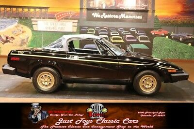 1980 TR7 -- Triumph TR7 Black with 49,551 Miles, for sale!