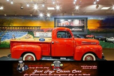 1950 Other Pickups -- Red Ford f1 with 51,062 Miles available now!