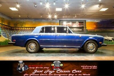 1975 Silver Shadow -- Blue/Blue Rolls-Royce Silver Shadow with 37,700 Miles available now!