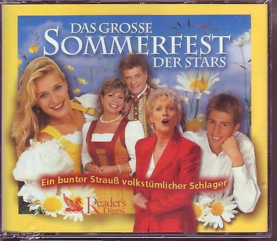 Das grosse Sommerfest der Stars  -   Reader's Digest  5 CD Box