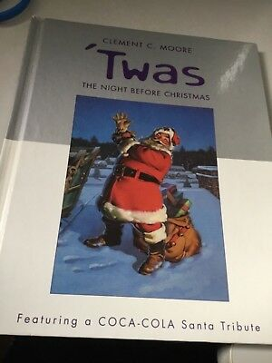 TWAS THE NIGHT BEFORE CHRISTMAS Featuring a COCA COLA Santa tribute by HALLMARK