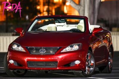 2010 IS IS 250 Sport Convertible 2D 2010 Lexus IS