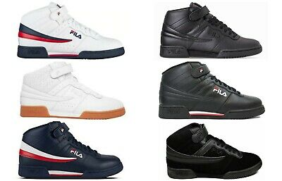 d98815adc269 New Men s FILA F13 F-13 Mid Classic Strap HI-Top Basketball Shoes Sneakers