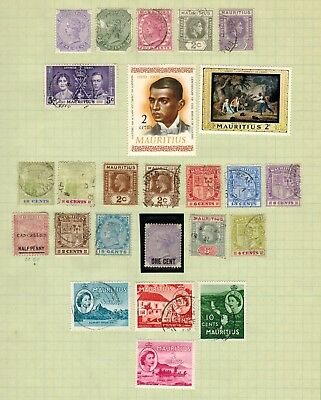 Lot of Mauritius & more Old Stamps MNH/MH/Used