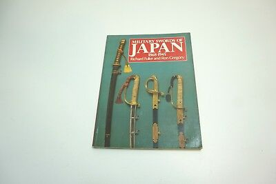1993 Military Swords Of Japan 1868 - 1945 Sb Book By Fuller / Gregory