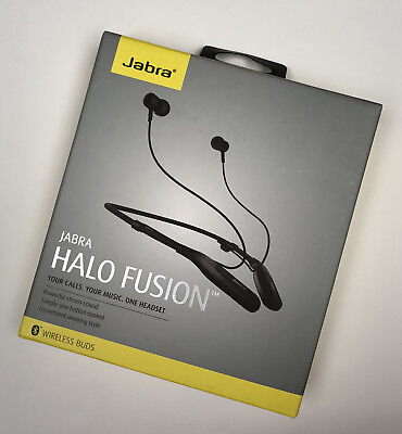 d044115f021 Jabra Halo Fusion Bluetooth Wireless Hands-Free Headset for iOS Android  Windows
