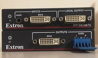 Extron DTP DVI 230 Transmitter And Receiver Pair