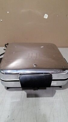 Vintage Waffle Maker Grill Model 9150 Chrome Tested & Working FREE SHIPPING