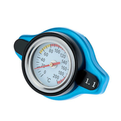 1.1 BAR Car Thermo Thermostatic Radiator Cap Cover Water Temperature Gauge A0O1