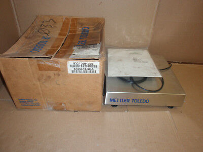 MS025P000 Mettler ToledoNEW In Box Stainless Steel Weigh Scale In 93210001000