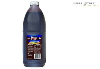 Chocolate Flavoured Syrup Cottees 1x3 Litre Thickshake Milkshake Sundae Topping