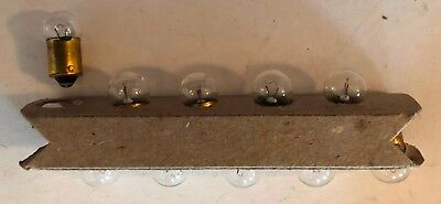 NIB – 10 Pieces – Sylvania #51 Miniature Bayonet Base Lamp