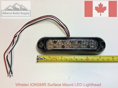 Whelen ION Surface Mount LED Lighthead - RED - Set of 2 - 1 PAIR -  IONSMR