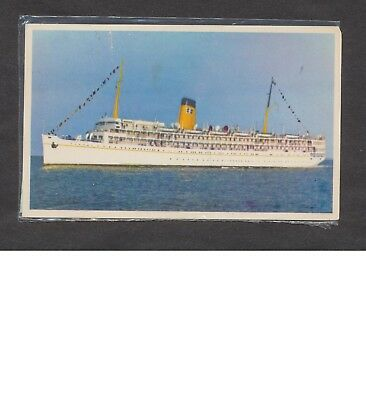 Vintage Postcard: USS Florida (P&O Steamship Co.) Mailed from Nassau in 1965