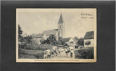RPPC Germany w/ Soldiers descriction on back