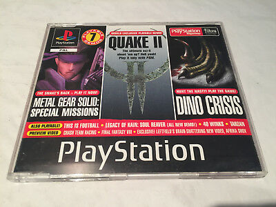 Official UK PlayStation 1 Magazine Demo Disc 51 - Dino Crisis