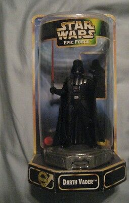 1997 Star Wars DARTH VADER  movable figure  Epic Force   NEW