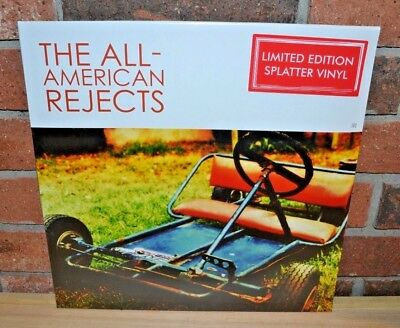 THE ALL-AMERICAN REJECTS - Self Titled, Ltd SPLATTER COLORED VINYL LP New! OOP!