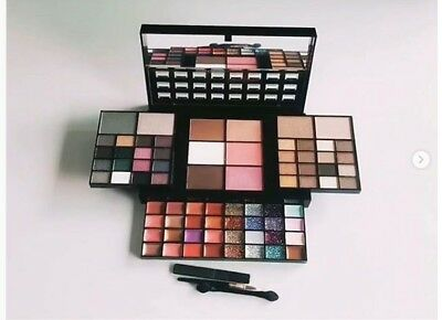 74 Piece Makeup set Cosmetic Kit  Eyeshadow Palette Beauty Blusher Lipstick