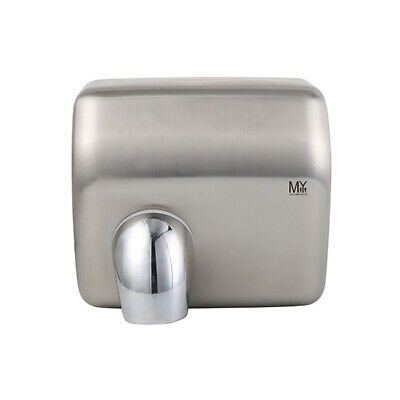 Mywashroom Commercial Automatic Satin Finish Stainless Steel Hand Dryer