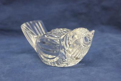 Waterford Crystal Bird Paperweight Figurine