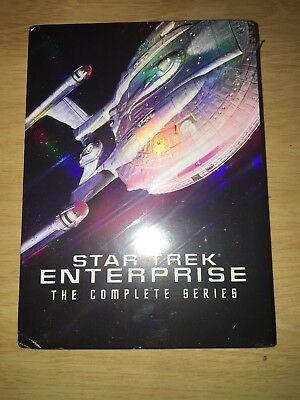 Star Trek: Enterprise - The Complete Series (DVD, 2017, 27-Disc Set)
