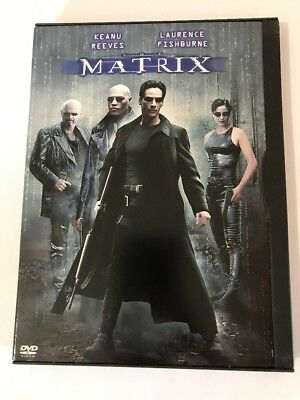 The Matrix (DVD, 1999) Widescreen. Keanu Reeves Laurence Fishburne