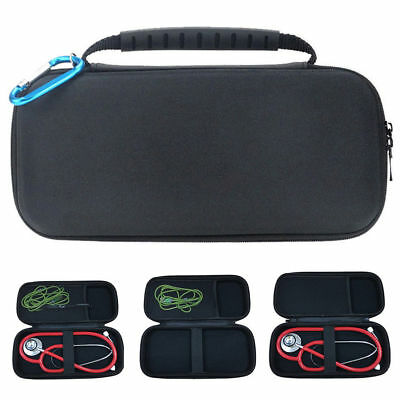 UK Stethoscope Carrying Case Headphone Case Storage Bag Box Lightweight Hard