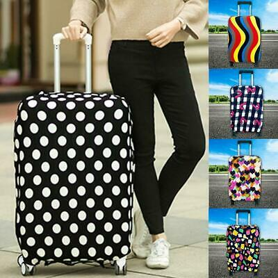 """22-28"""" Elastic Luggage Suitcase Cover Protective Bag Dustproof Case Anti-scratch"""