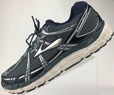 5b5f85d772d Brooks Addiction 11- Control Running Training Athletic Sneakers Men s 13 EE  Grey