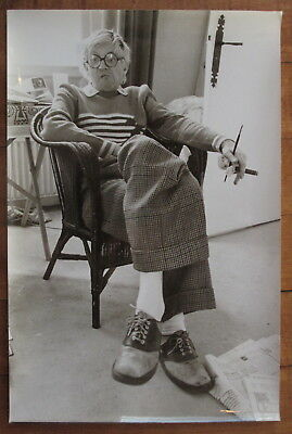 DAVID HOCKNEY: Most Valuable Living Artist *$$$* VINTAGE CLASSIC Rare 1977 photo