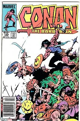 """Marvels Comics Conan The Barbarian #169 Read Copy """"tomb Of The Scarlet Mage"""""""