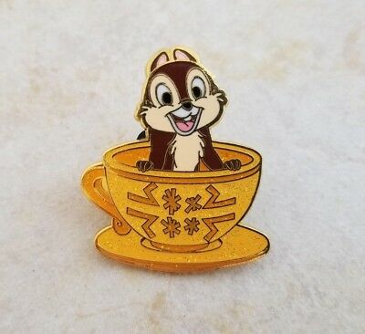 Disney Trading Pins HK Disneyland Chip from Mad Hatter Teacup Set Magic Access