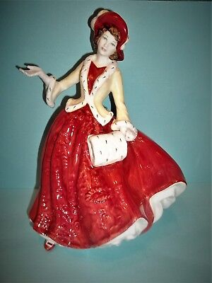 "ROYAL DOULTON ""Christmas Day 1999""  FIGURINE Hn 4214 Made England GLAZED~MINT"