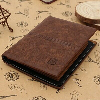 New Mens Luxury Soft Quality Genuine Leather Wallet Credit Id Card Holder