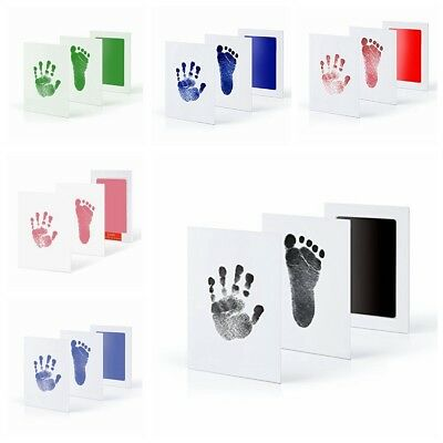 New Baby Paw Foot Photo Frame Print Pad Touch Ink Pad Baby Items Souvenir Gift