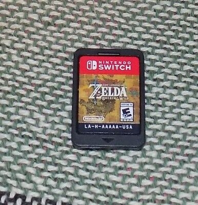New Legend of Zelda: Breath of the Wild (Nintendo Switch, 2017) *Cartridge only*