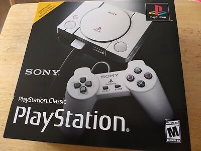 Sony PlayStation Classic Edition Mini Console. Brand New Factory Sealed