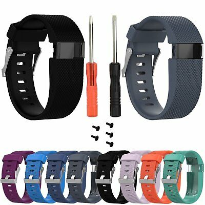 Replacement Wristband Band Ricambio Cinturino per Fitbit Charge HR Small/Large