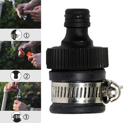 1x Universal Tap Connector Adapter Mixer Kitchen Garden Hose Pipe Joiner Fitting