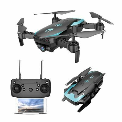 12min RC Foldable Drone With HD Camera Wifi FPV Quadcopter 2.4G 4CH 6Axis RTF