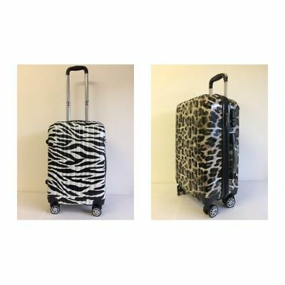Hard Shell Cabin Hand Luggage Suitcase travel bag Ryanair Easyjet Wheeled case.