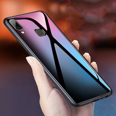 For Vivo V11 Pro Y81 Y95 Y71 V9 V7 Nex S A Tempered Glass Case Shockproof Cover
