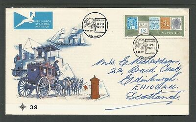 Scarce 1974 SOUTH AFRICA post office cover /stamp exhibitions ,ref36/50