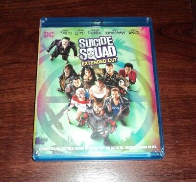Suicide Squad Extended Cut on Blu-ray & DVD - BRAND NEW & SEALED!