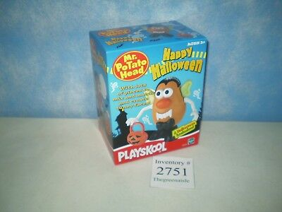 NEW 2002 Playskool Hasbro Mr Potato Head PH Tater Spud Happy Halloween 22378