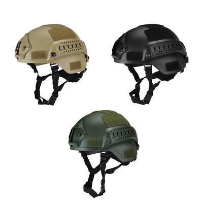 AU MICH2000 Helmet Outdoor Airsoft Military Tactical Combat Riding Hunting
