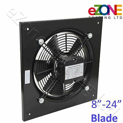 Industrial Ventilation Metal Fan Axial Commercial Air Extractor Exhaust