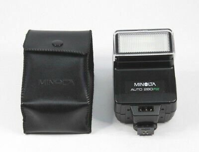 【Near Mint】Minolta Auto 280 PX Shoe Mount Flash for Minolta From Japan#8082